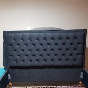 تخت خواب دونفره مدل مبین سایز 160×200 سانتی متر