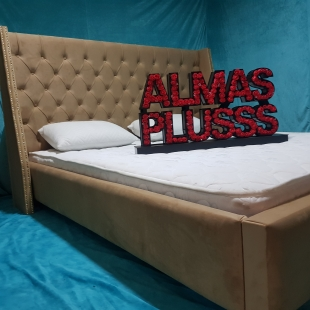 تخت خواب دونفره مدل نارین سایز 160×200 سانتی متر
