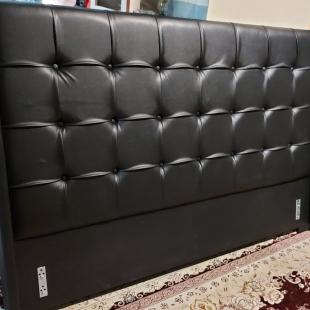تخت خواب دونفره مدل رامین سایز 160×200 سانتی متر