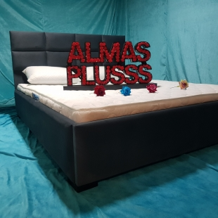 تخت خواب دونفره مدل کتیبه سایز 120×200 سانتی متر