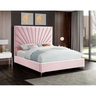 تخت خواب دونفره مدل ملینا  سایز 160×200 سانتی متر