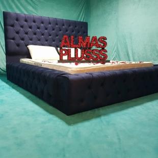 تخت خواب دونفره مدل روژان سایز 160×200 سانتی متر