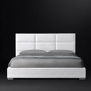 تخت خواب دونفره مدل فلورا  سایز 140×200 سانتی متر