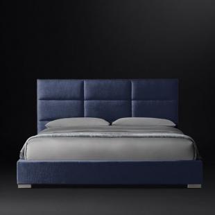 تخت خواب دونفره مدل فلورا  سایز 160×200 سانتی متر