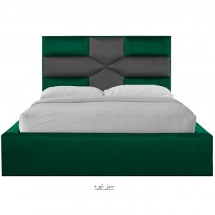 تخت خواب دونفره مدل آروین سایز 160×200 سانتی متر