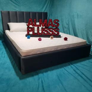تخت خواب دونفره مدل وستا 2 سایز 160×200 سانتی متر