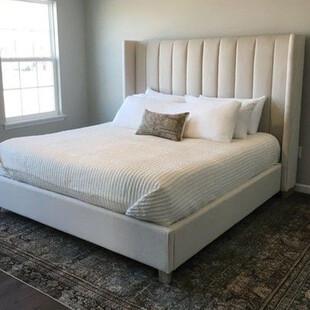 تخت خواب دونفره مدل ماریا سایز 160×200 سانتی متر
