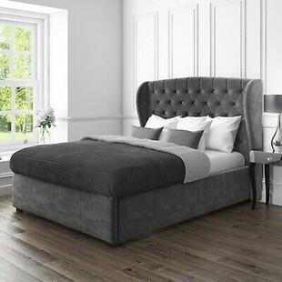 تخت خواب دونفره مدل اطلس سایز 160×200 سانتی متر