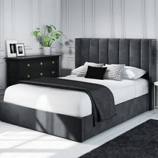تخت خواب دونفره مدل رز سایز 140×200 سانتی متر