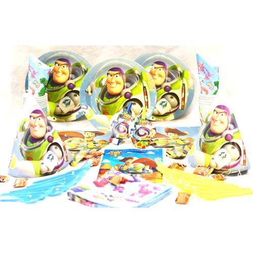 تم تولد دیزنی پکیج ۱۰۸ عددی توی استوری Toy Story محصول شرکت Party Land Junior وارداتی