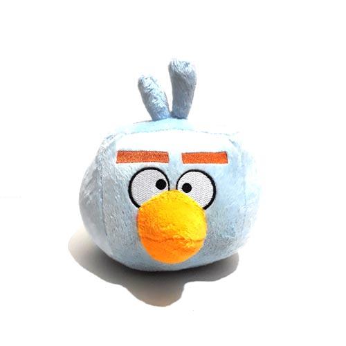 عروسک پولیشی شخصیتی انگری بردز آبی Angry Birds سایز کوچک مدل یک