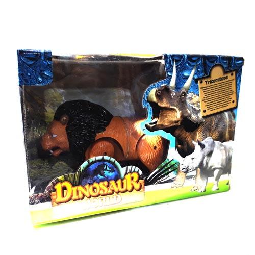 ربات شیر موزیکال راهرو مدل Dinosaur World