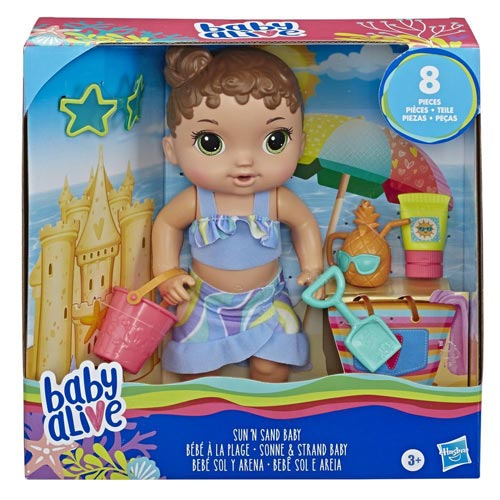 عروسک Baby Alive مدل Beach Baby شرکت هازبرو