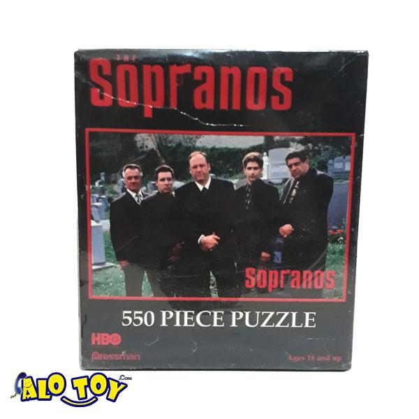 پازل ۵۵۰ تکه Pressman سوپرانوز مدل 4825