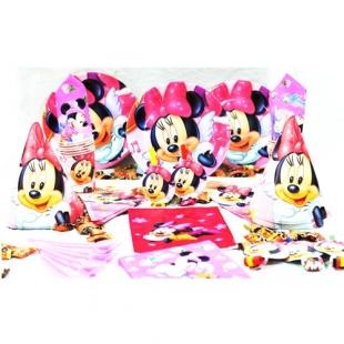 تم تولد دیزنی پکیج ۱۰۸ عددی مینی موس Minne Mouse محصول شرکت Party Land Junior وارداتی