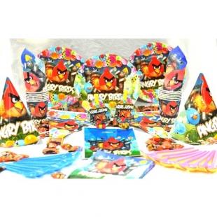 تم تولد دیزنی پکیج ۱۰۸ عددی انگری بردز Angry Birds محصول شرکت Party Land Junior وارداتی