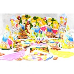 تم تولد دیزنی پکیج ۱۰۸ عددی پرنسس Princess محصول شرکت Party Land Junior وارداتی