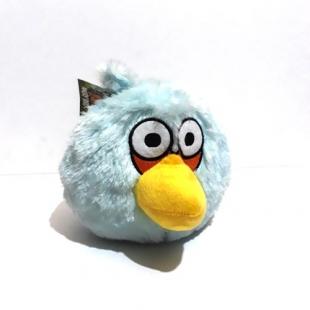 عروسک پولیشی شخصیتی انگری بردز آبی Angry Birds سایز کوچک مدل دو