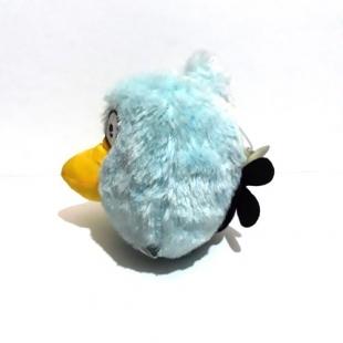عروسک پولیشی شخصیتی انگری بردز آبی Angry Birds سایز کوچک