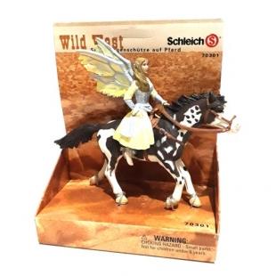اکشن فیگور اشلایش مدل الف سوارکار (Sioux Archer) سری Wild West