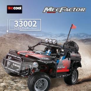 لگو دکول سری MecFactor مدل جیپ 33002