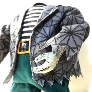 عروسک رقصنده هیولای بدون سر مدل کت تارعنکبوتی