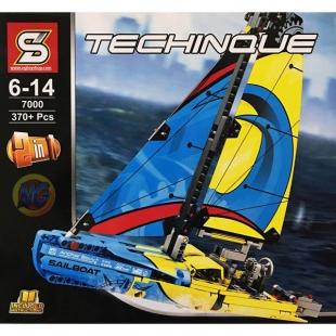 لگو برند S قایق سرعتی سری Technique مدل Racing Yacht