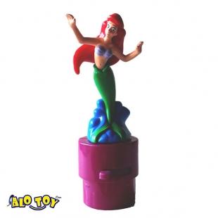 فیگور دیزنی پری دریایی رقصنده چرخشی