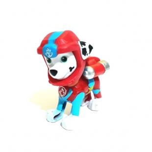 فیگور سگهای نگهبان پرنده با کلاه کاسکت ست ۶ عددی