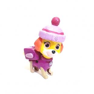 فیگور سگهای نگهبان با کلاه زمستانی ست ۸ عددی