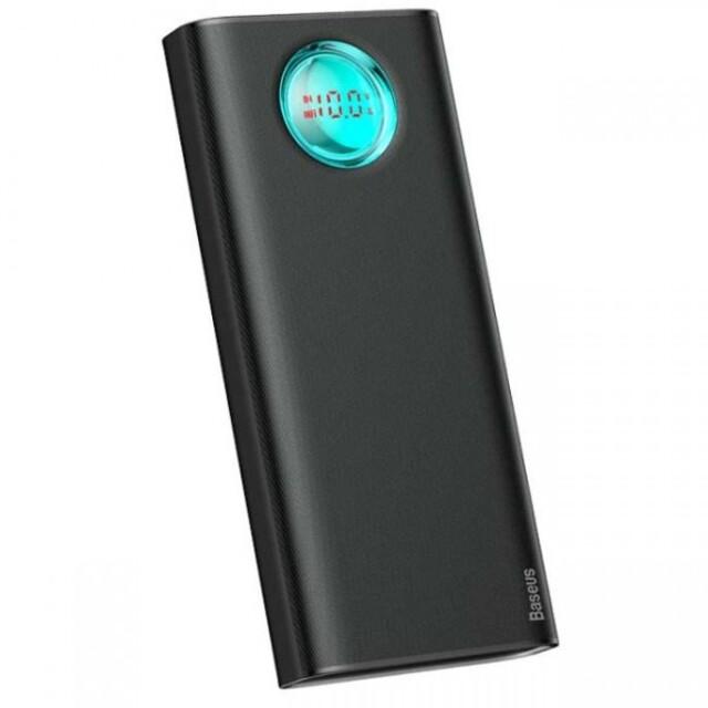 پاور بانک فست شارژر بیسوس Baseus Amblight PD3.0+QC3.0 Quick Charge 30000mAh Power Bank 33 W