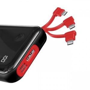 پاوربانک 10000 بیسوس Baseus Mini S Digital Power Bank PPXF-A01 کابل متصل Type-C