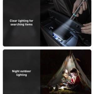 چکش اضطراری و چراغ قوه خودرو بیسوس Baseus Savior Window Breaking Flashlight CRSFH-B01