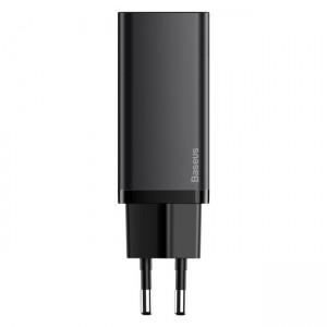 شارژر دیواری فست شارژ بیسوس Baseus GaN2 Lite Quick Charger Type-C USB-A CCGAN65UE توان 65 وات