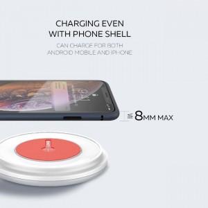 شارژر وایرلس الدینیو LDNIO AW001 Wireless Charger توان 10 وات