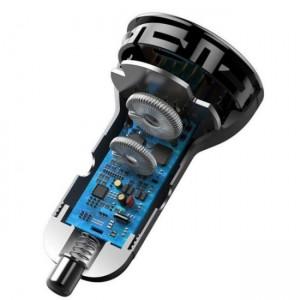 شارژر فندکی فست شارژ بیسوس Baseus Digital Display PPS Dual 45W TZCCBX-C0G همراه کابل
