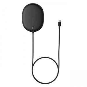 شارژر وایرلس مگنتی بیسوس Baseus Light Magnetic Wireless Charger WXQJ-01 15W توان 15 وات