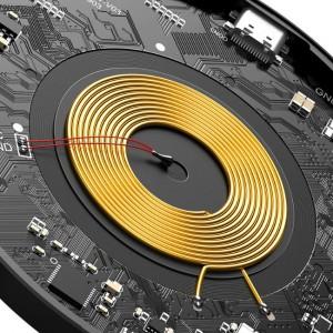 شارژر وایرلس مغناطیسی Simple Magnet بیسوس 15w مدل BS-W517