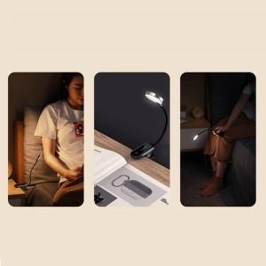 چراغ مطالعه گیره دار بیسوس Baseus Comfort Reading DGRAD-0G Mini Clip Lamp