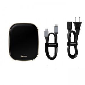 هاب چندکاره بیسوس Baseus Type C HUB Adapter AC Multifunctional CN CAHUB-AC01 توان 60 وات
