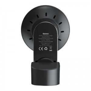 هولدر و شارژر وایرلس چندکاره بیسوس Baseus Big Energy Car Mount Wireless Charger WXJN-01 توان 15 وات