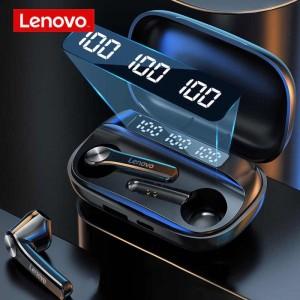 هندزفری بلوتوث دوگوش لنوو Lenovo QT81 Wireless Bluetooth Headset