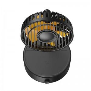 پنکه و شارژر وایرلس بیسوس Baseus Hermit Wireless Charger BS-W513 WXYZ-B01 توان 10 وات دارای استند