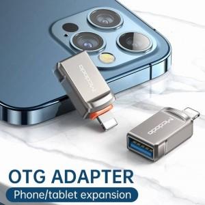 تبدیل OTG لایتنینگ به USB 3.0 مک دودو Mcdodo OT-8600 USB 3.0 to Lightning Convertor آیفونی