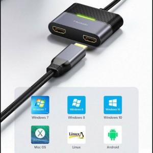 هاب شارژر تایپ سی به HDMI مک دودو مدل HU-7390