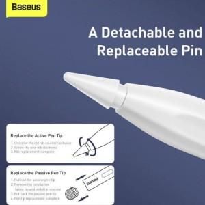 قلم لمسی بیسوس Baseus Smooth Writing Capacitive Stylus Active And Passive Version ACSXB-C02