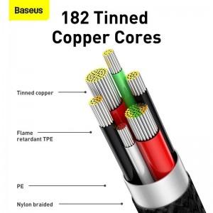 کابل Type C فست شارژ بیسوس Baseus Legend Series USB to Type-C CATCS-C01 طول 1 متر و 2 متر و توان 66 وات