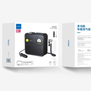 پمپ باد لاستیک خودرو راک Rock RST10747 Multifunctional Portable Car Air Pump
