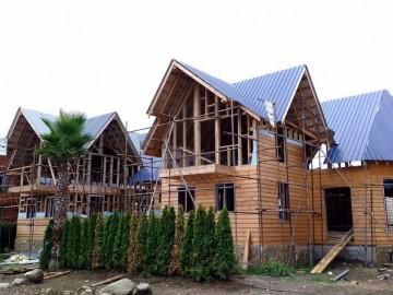 تیپ 1 ویلاهای چوبی شهرک آمیتس ( کلاچای گیلان )