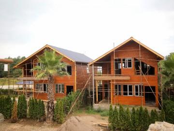 تیپ 2 ویلاهای چوبی شهرک آمیتس ( کلاچای گیلان )